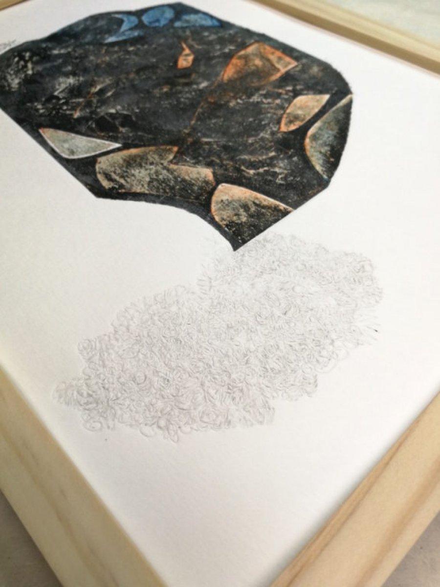 Des couleurs – 3 versions – gravure en taille douce sur papier 260 grammes.
