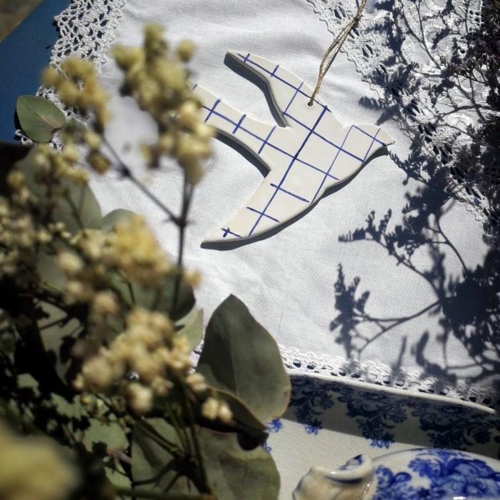 Hirondelle carreaux